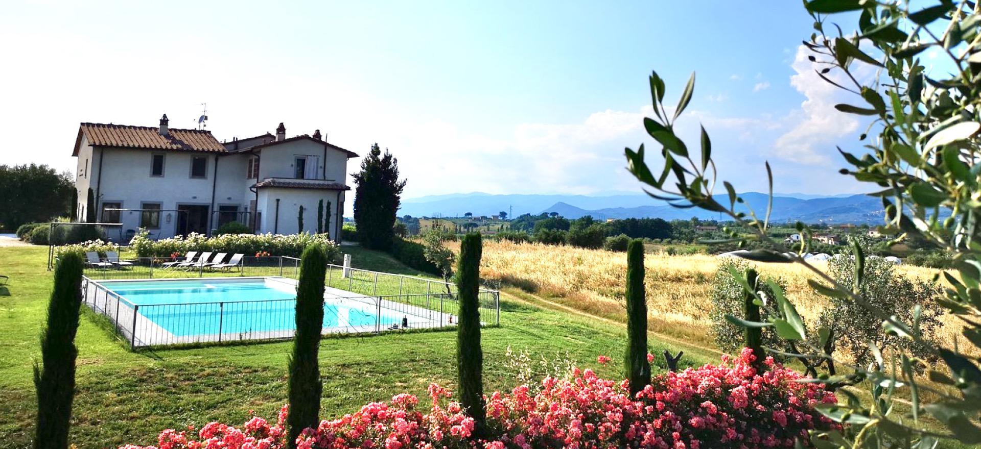 Centraal gelegen agriturismo om Toscane te ontdekken