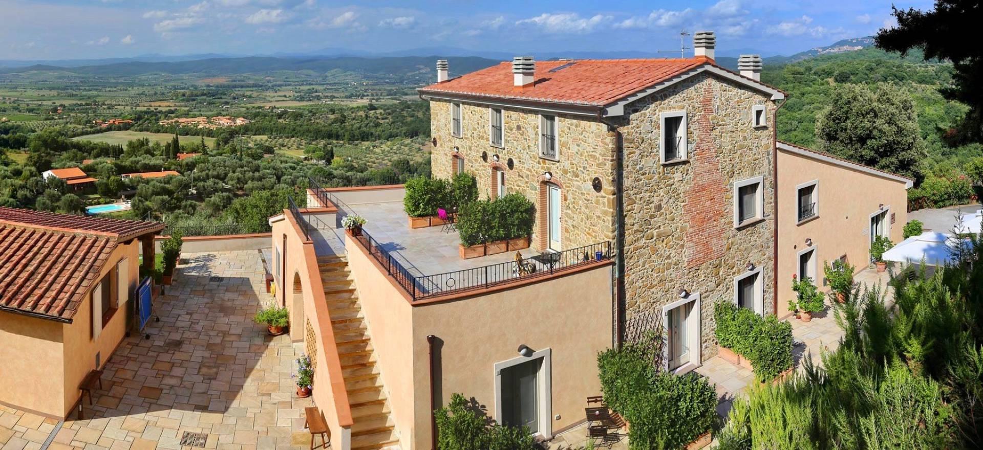 Agriturismo Toscane, luxe kamers en nabij het strand