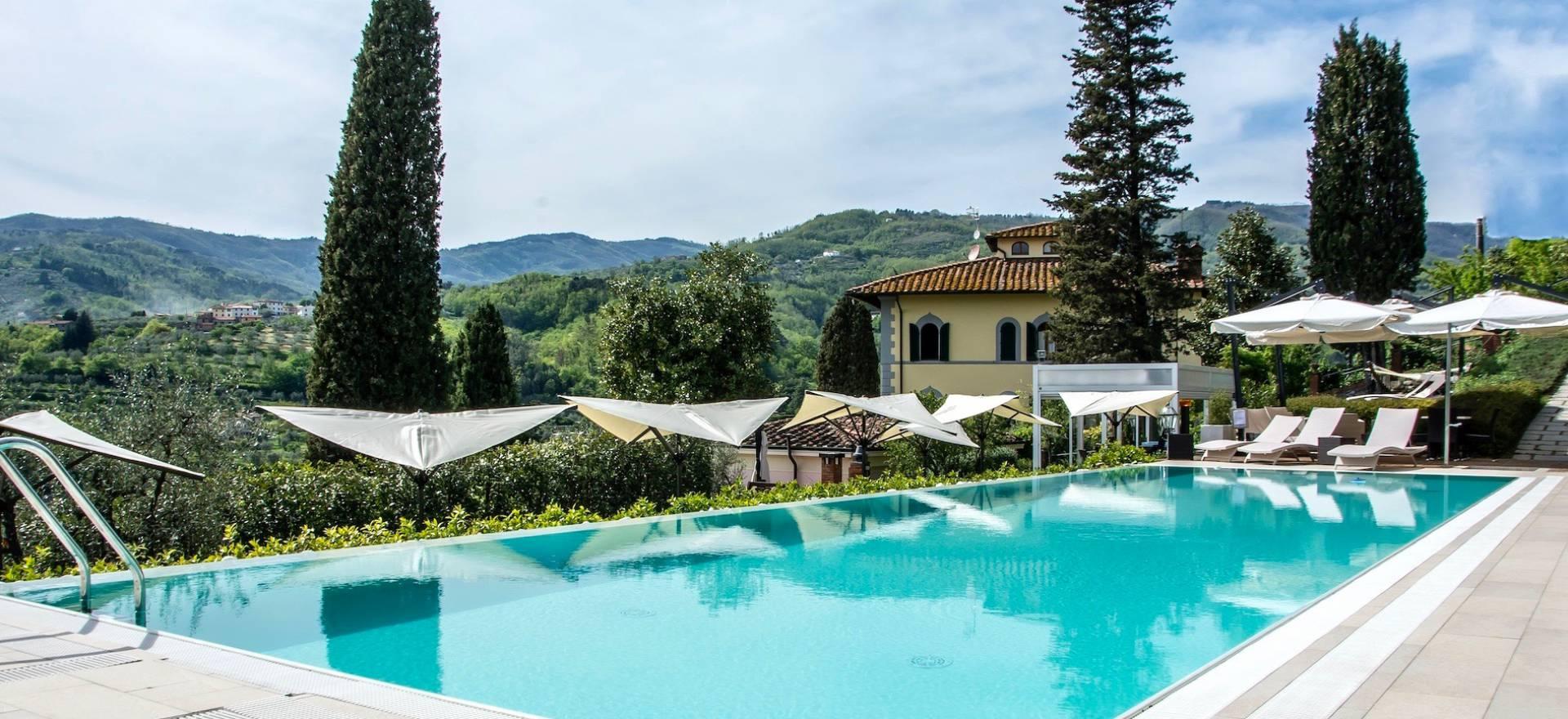 Agriturismo in statige villa tussen Florence en Lucca