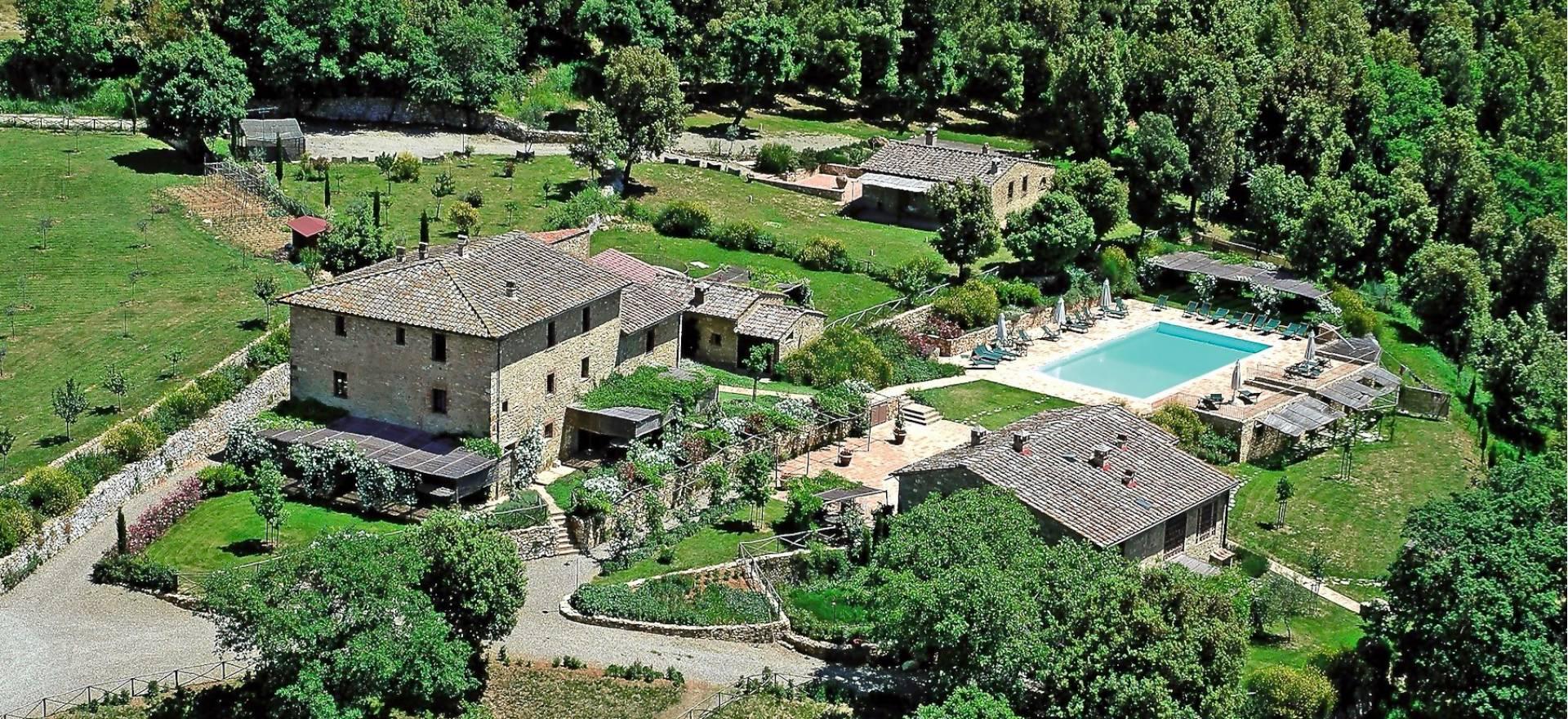 Agriturismo voor liefhebbers van natuur en cultuur in Toscane