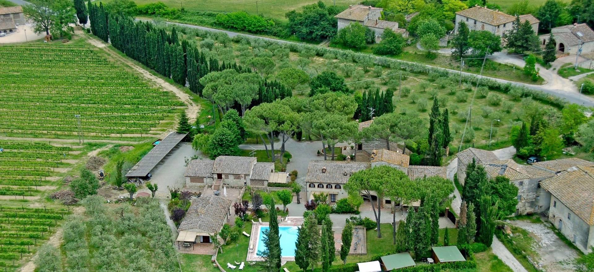 Karakteristieke agriturismo centraal gelegen in Toscane