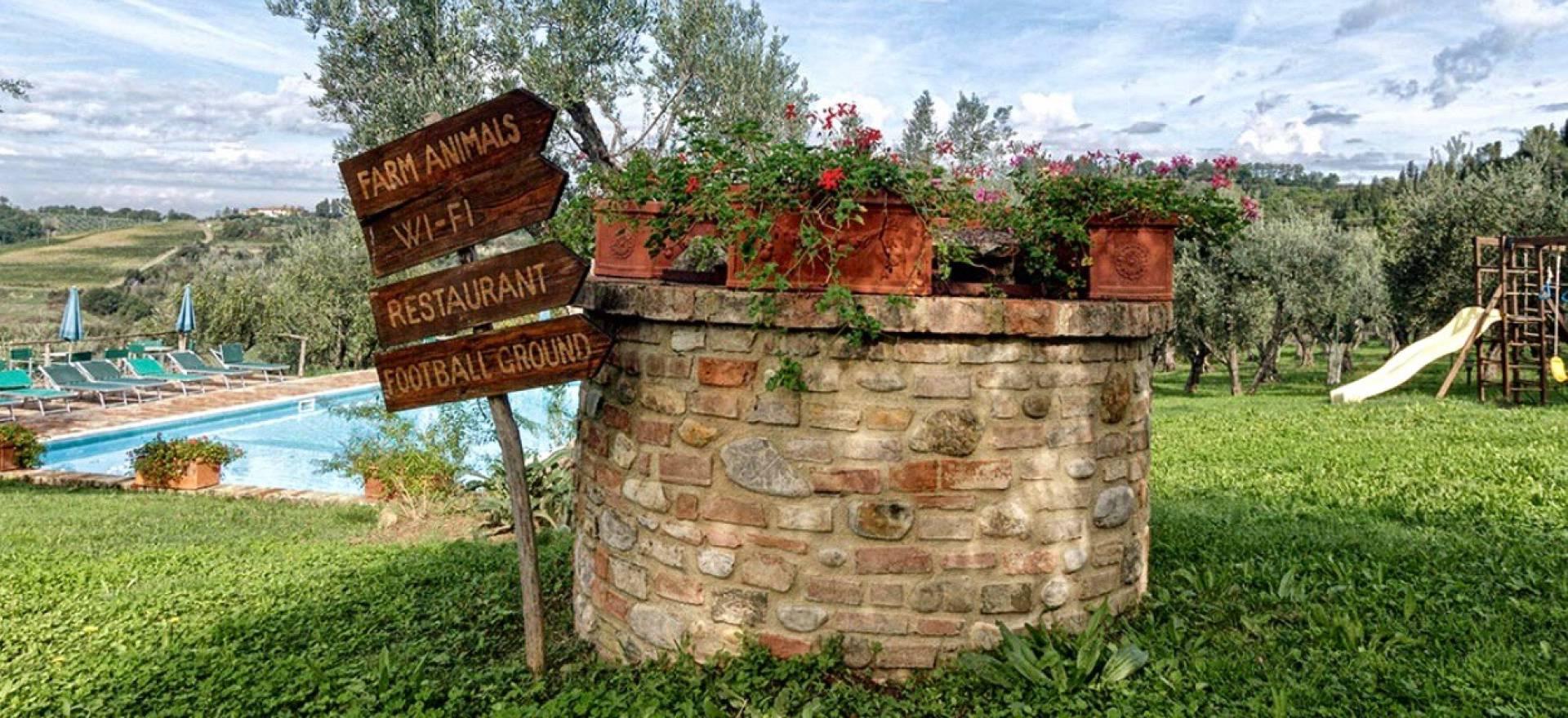 Kindvriendelijke agriturismo in Toscane met restaurant