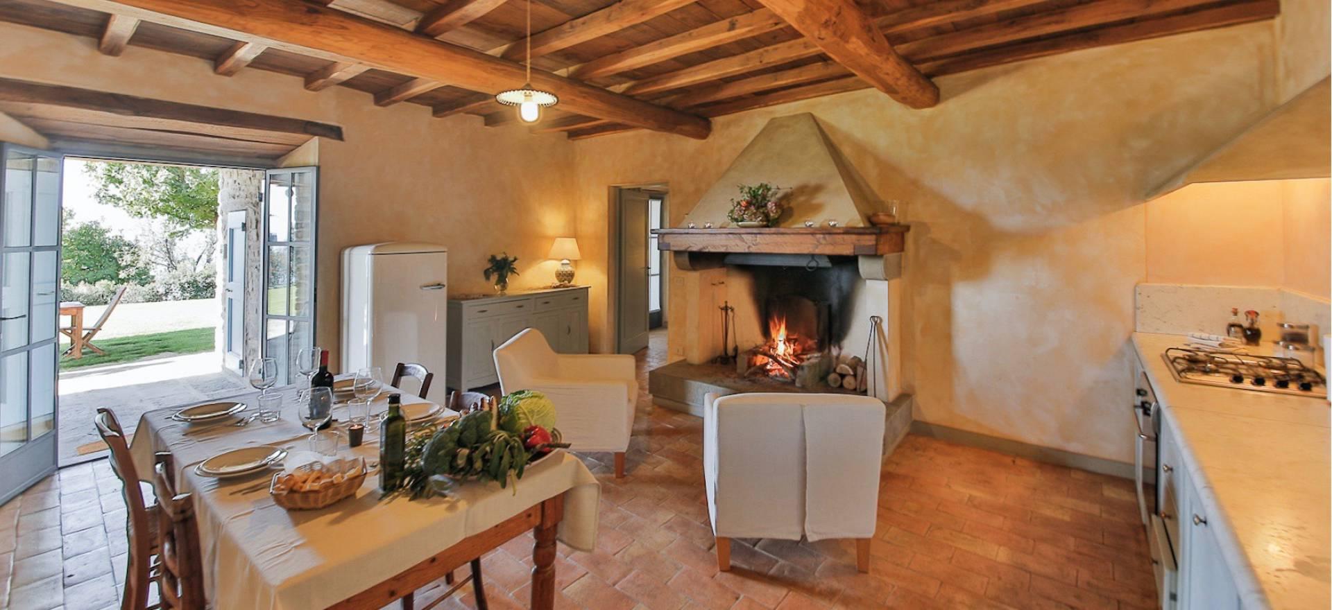 Agriturismo Toscane, luxe appartementen en mooi uitzicht