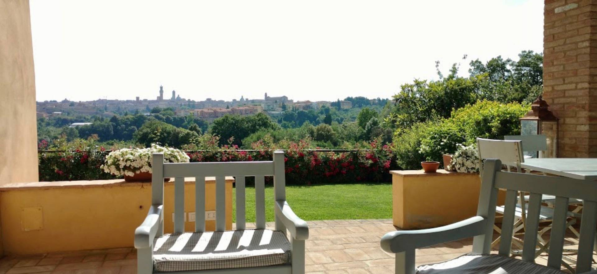 Elegante agriturismo met fantastisch uitzicht op siena - Hoe dicht terras ...