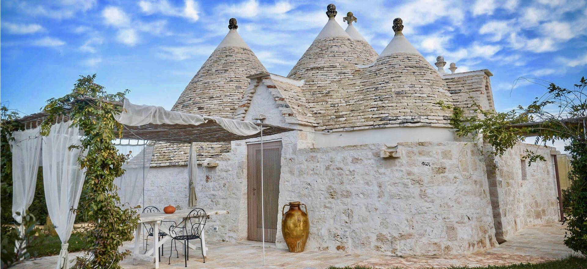 Zuid Italiaanse gastvrijheid in prachtige trulli