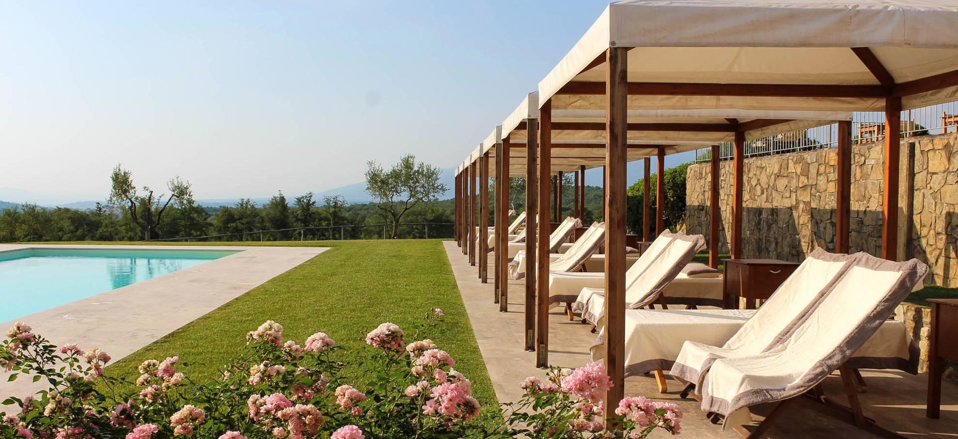 Centraal gelegen agriturismo in Toscane met restaurant en wijnbar