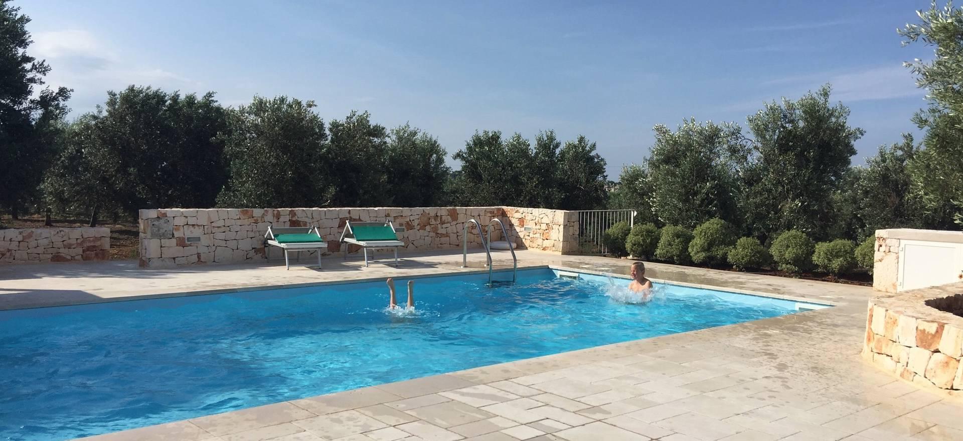 Prachtige verbouwde trullo met privé zwembad