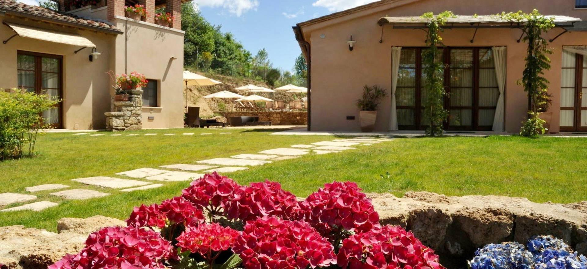 Luxe agriturismo tussen Siena en Arezzo in Toscane