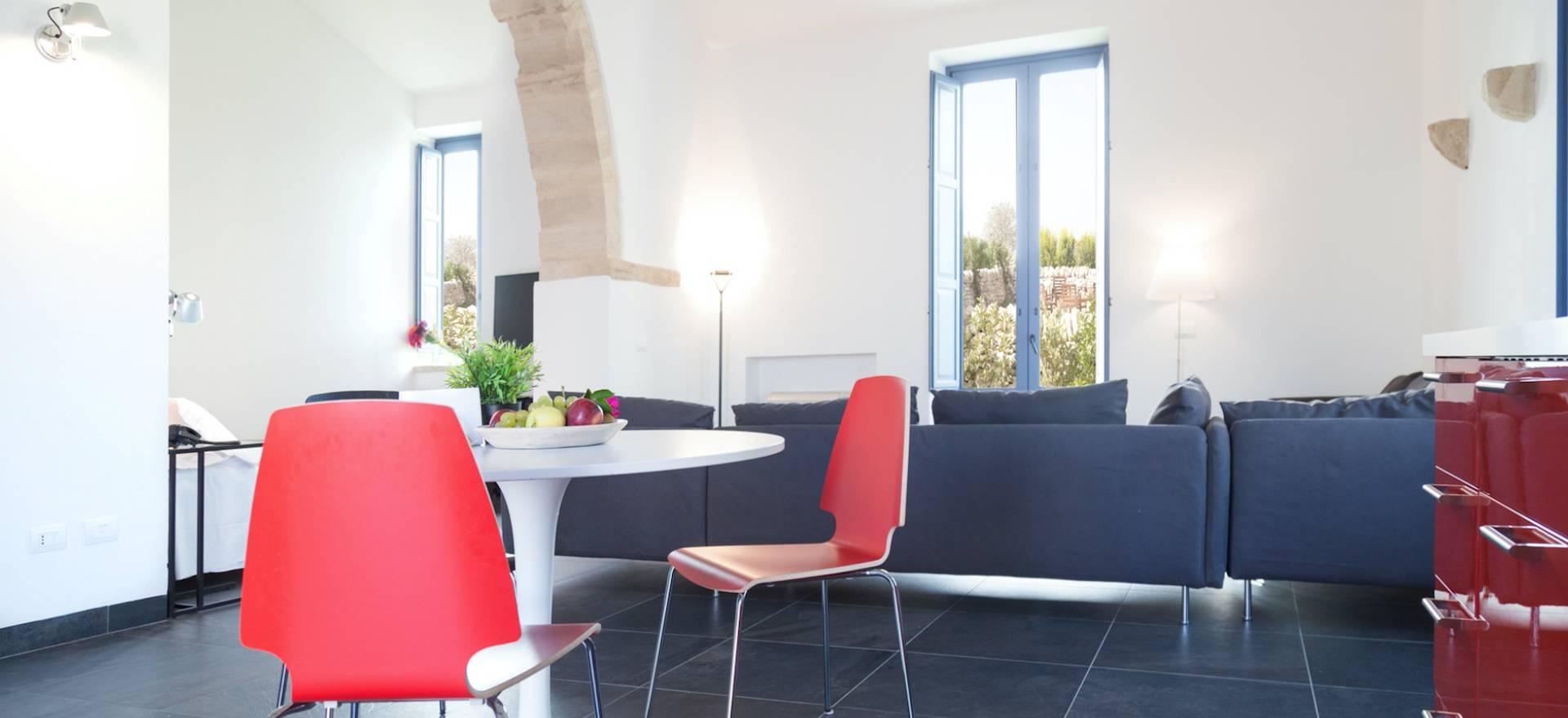 Agriturismo met grote appartementen op Sicilië