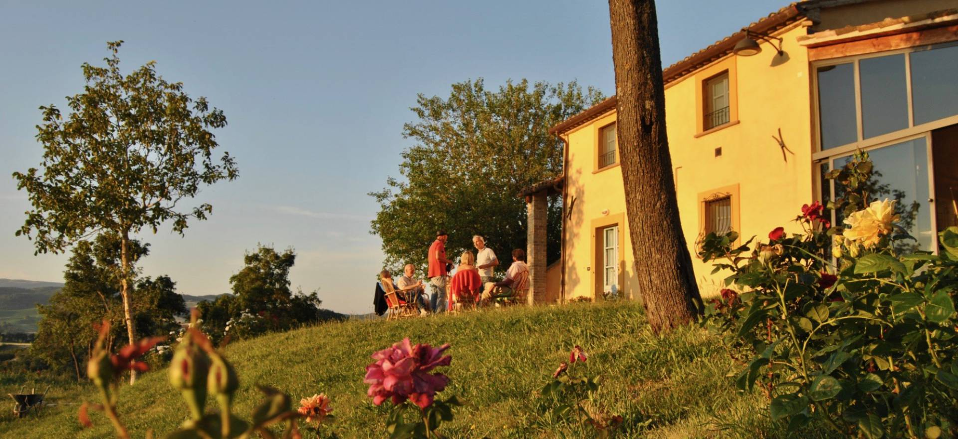Agriturismo le Marche, gezellige sfeer en kindvriendelijk