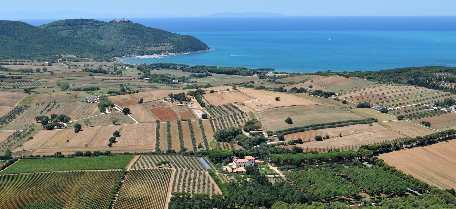 Glamping Toscane in een agriturismo 2 km van het strand