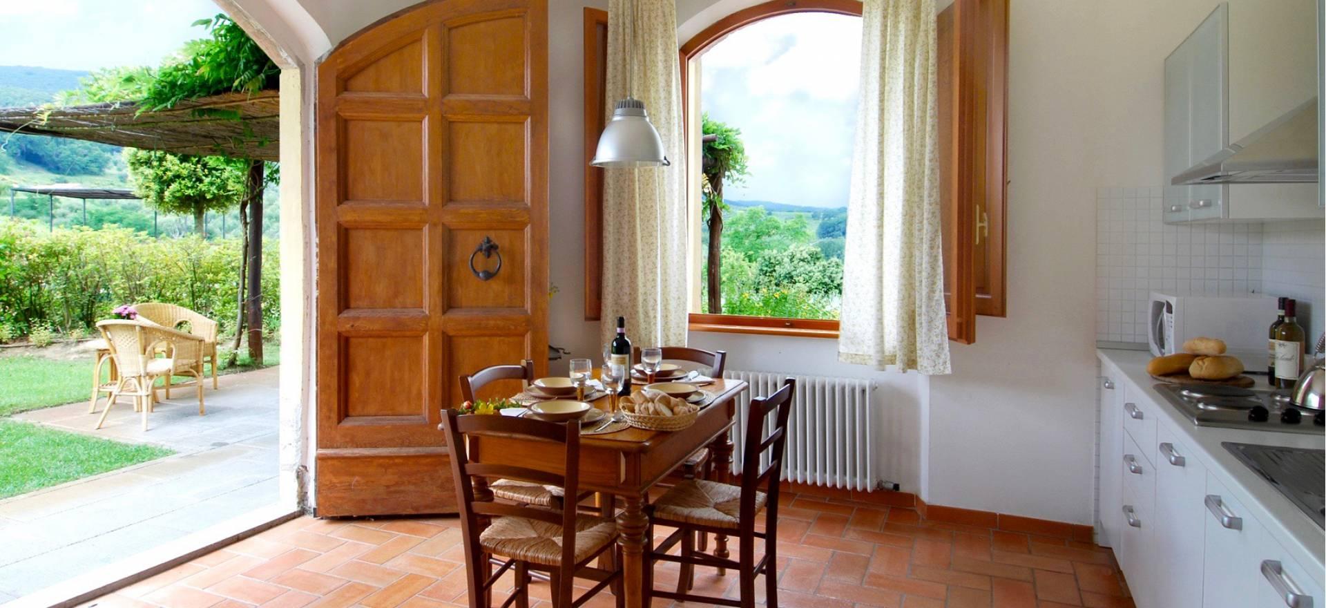 Agriturismo in Toscane met uniek uitzicht op San Gimignano