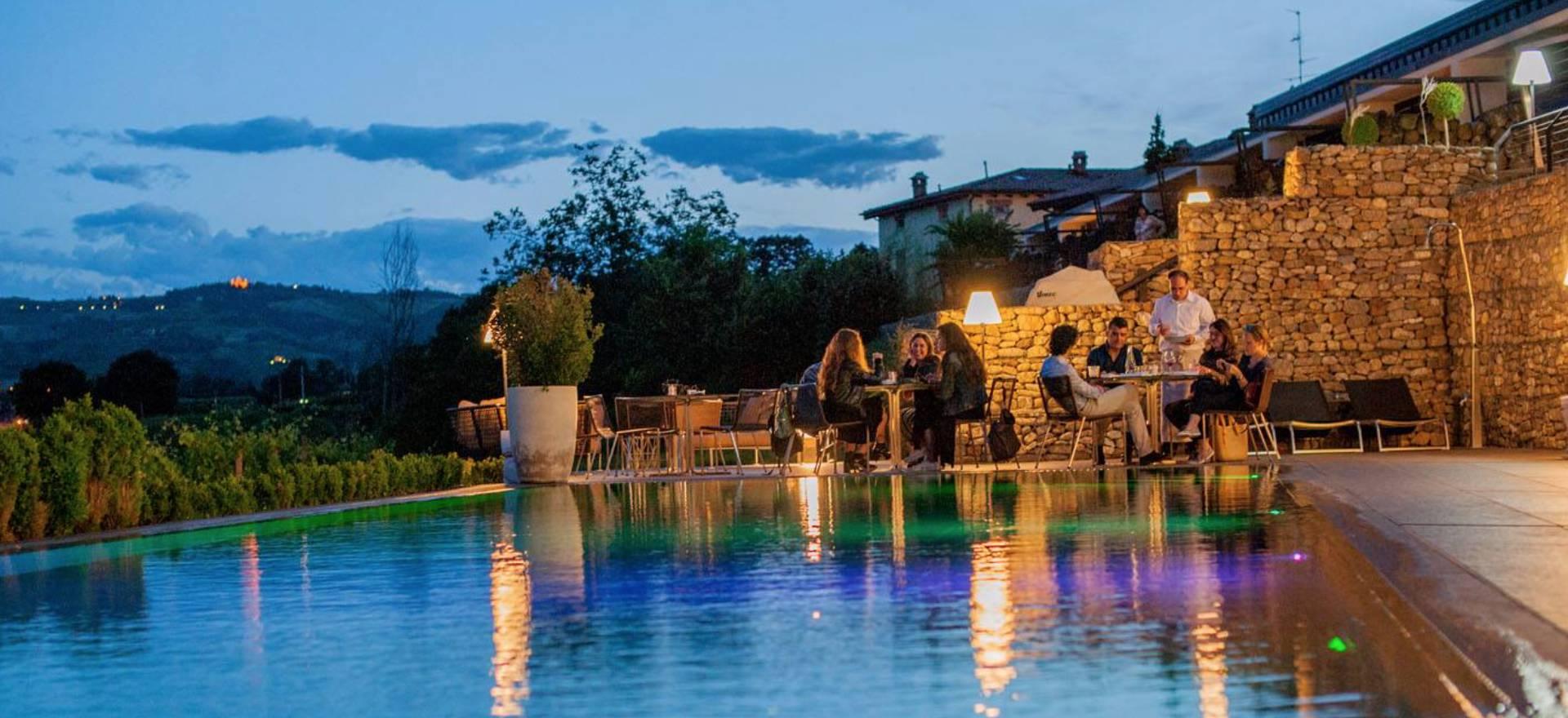 Agriturismo met ontspannen sfeer en goed restaurant