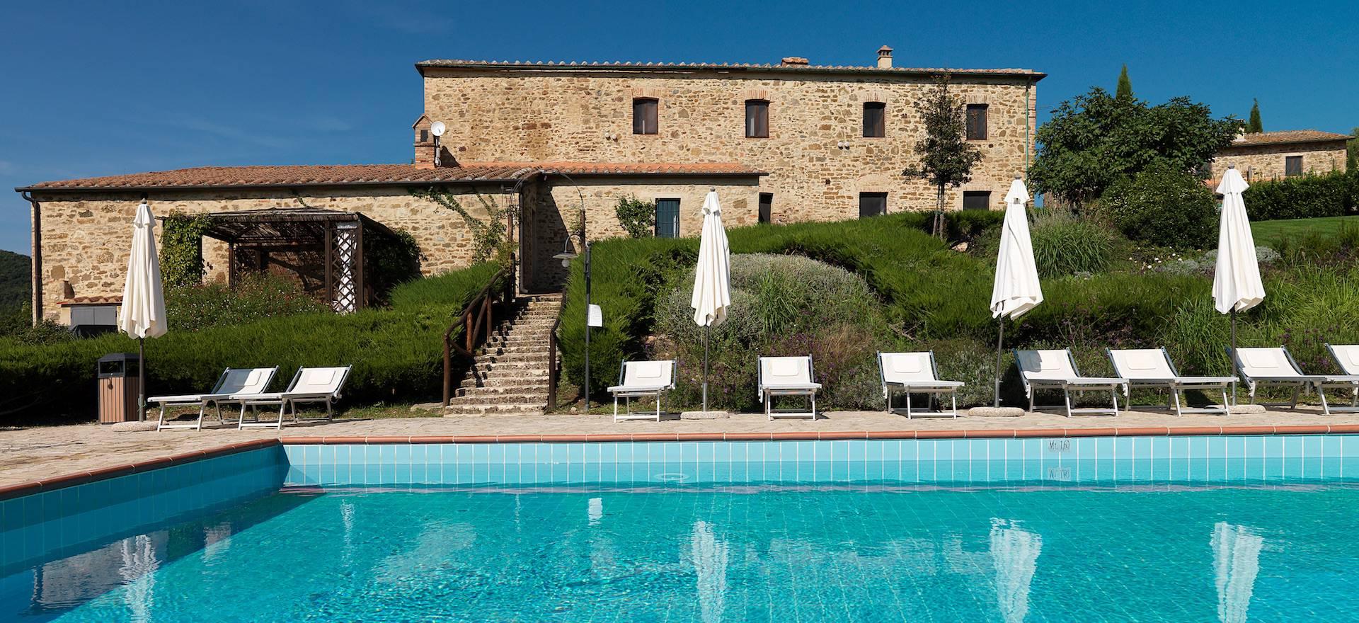 Agriturismo Toscane met smaakvol ingerichte appartementen