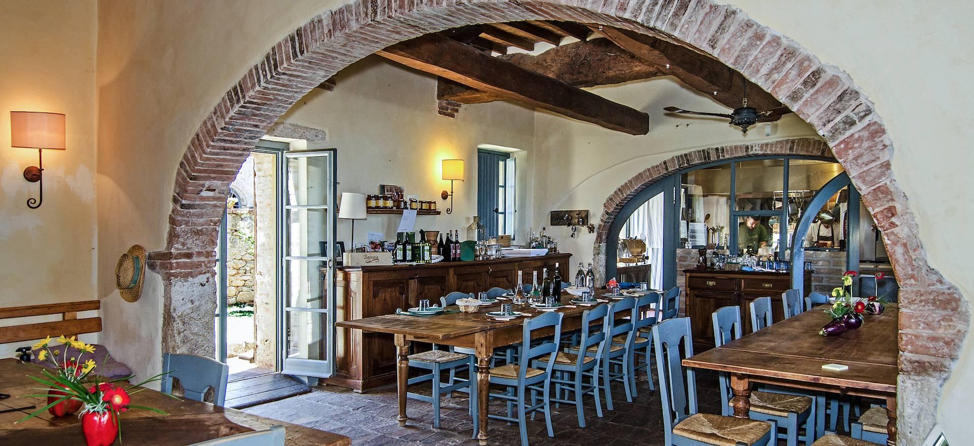 Prachtige agriturismo nabij Pienza met restaurant