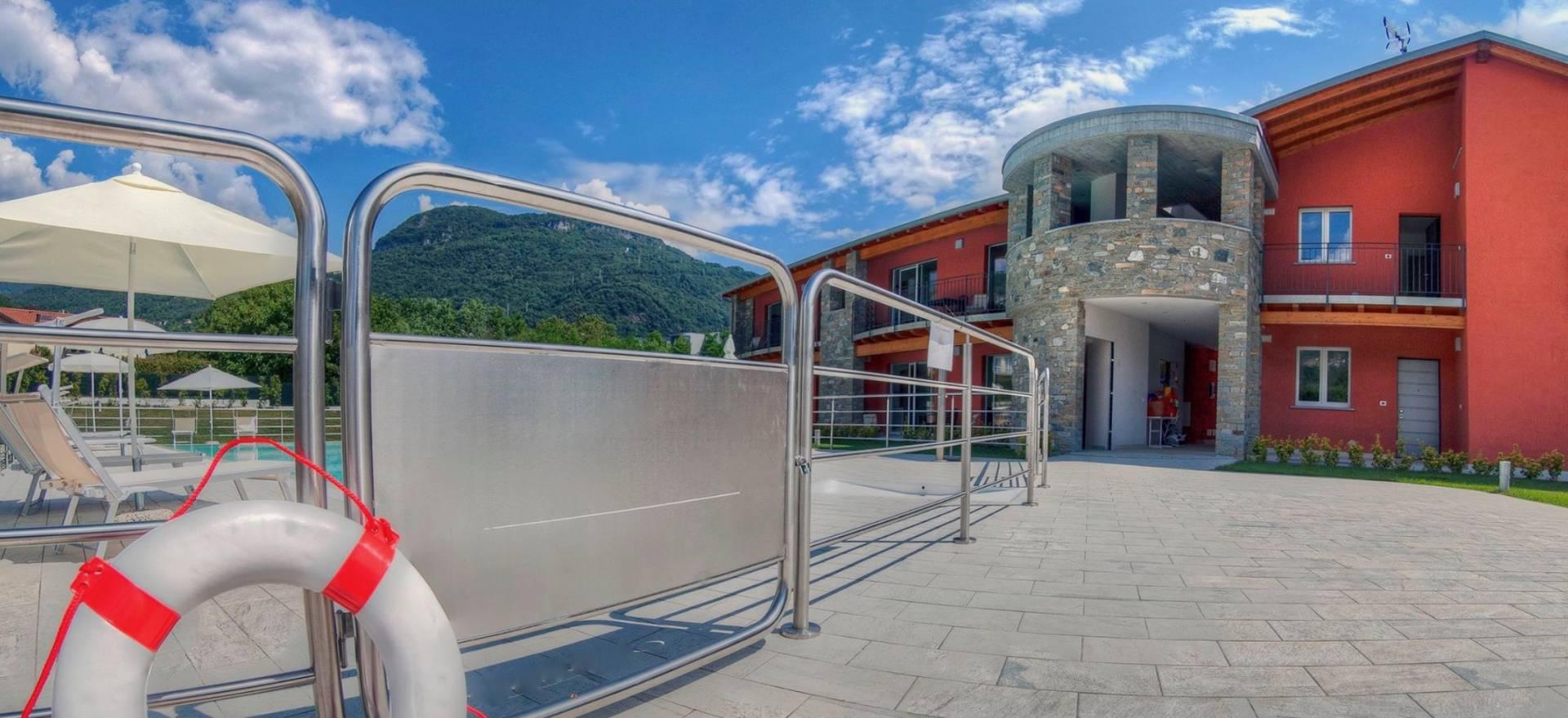 Residence Comomeer, kindvriendelijk en groot zwembad