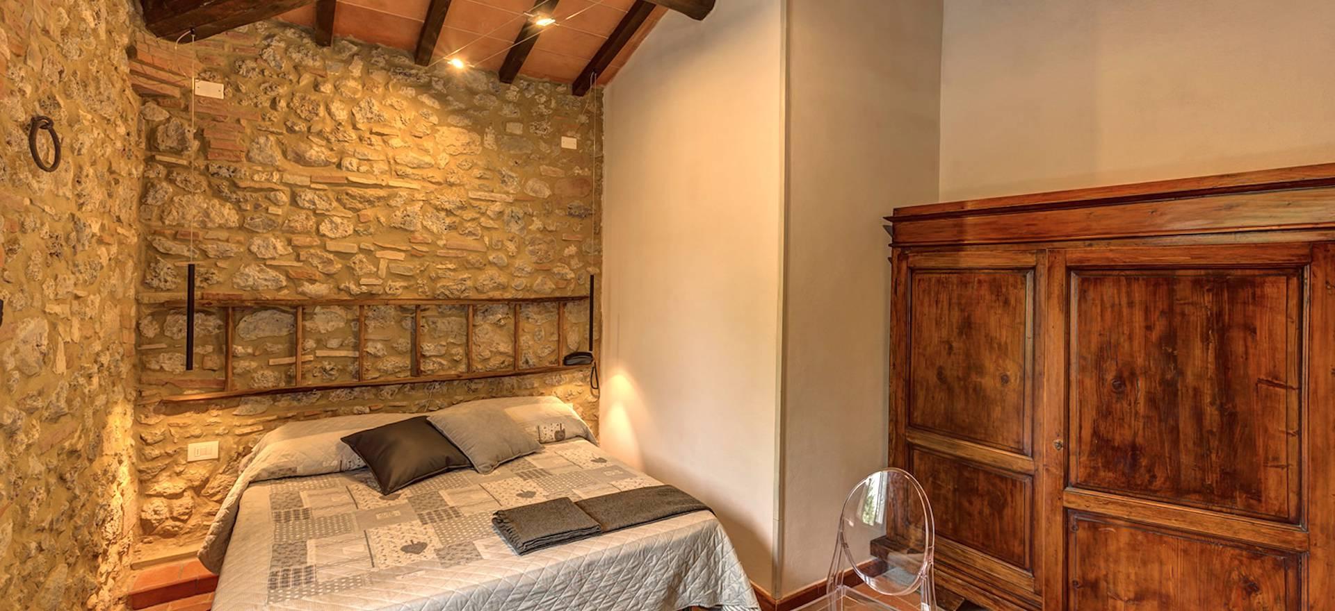 Agriturismo met restaurant bij San Gimignano, Toscane