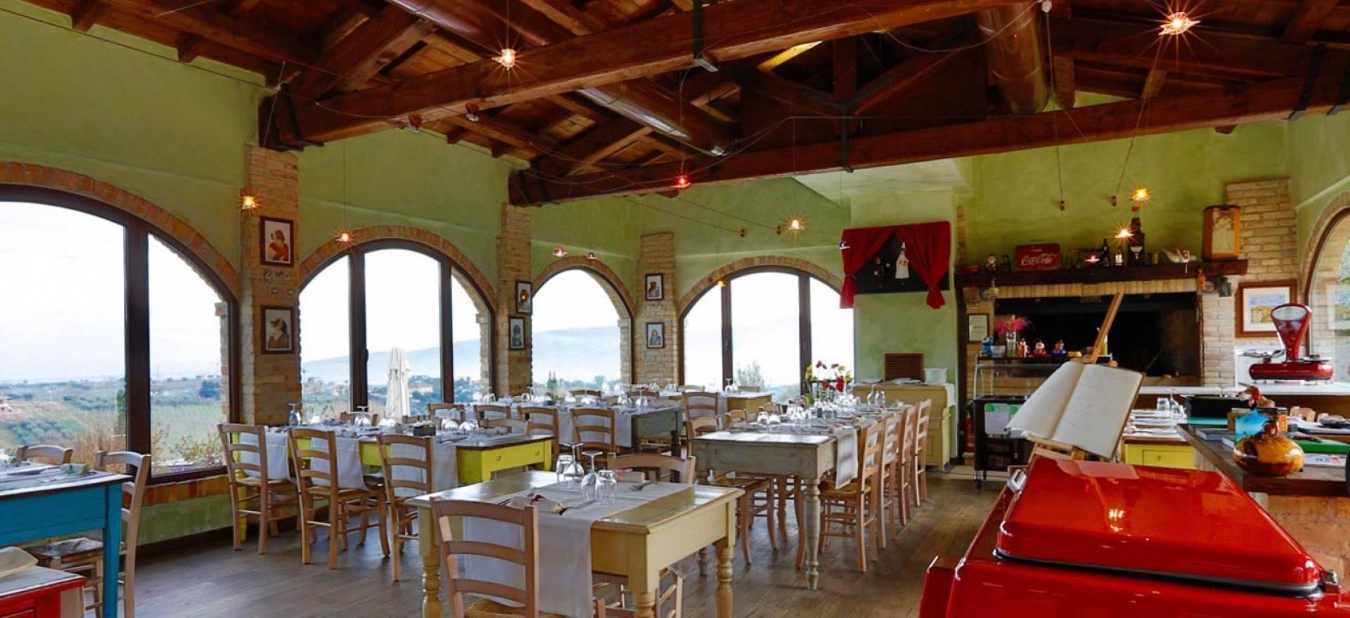 Mooie agriturismo in le Marche met restaurant en bij zee
