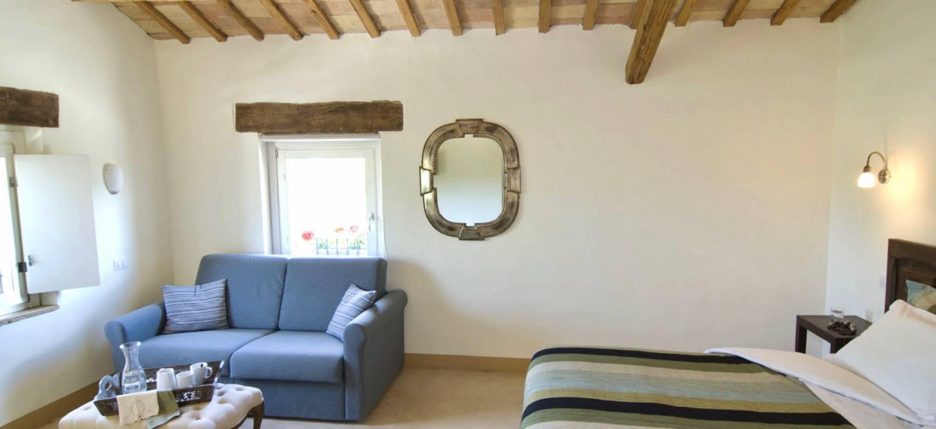 Agriturismo le Marche, mooie kamers en gastvrij