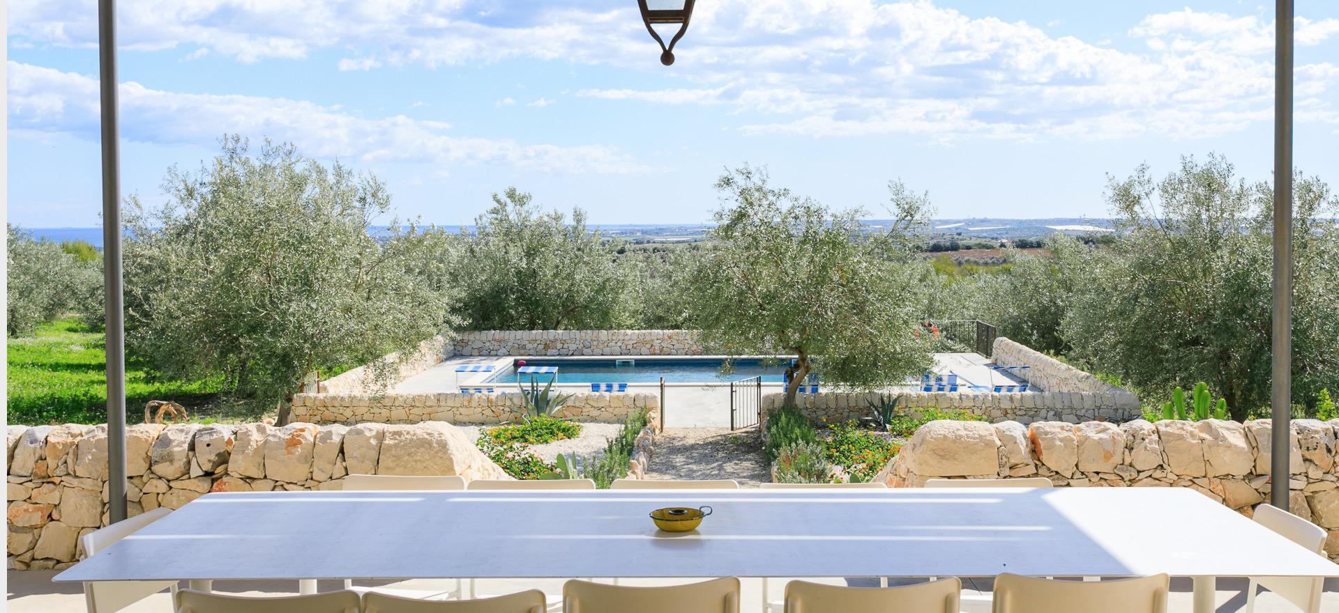 Agriturismo Sicilie Villa met zeezicht en privè zwembad in Sicilië