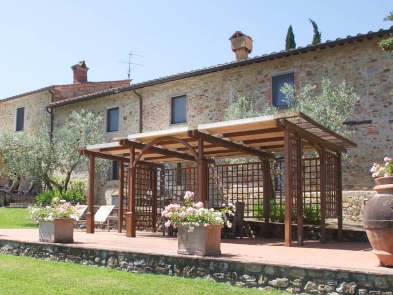 Agriturismo Toscane Centraal gelegen agriturismo in Toscane met restaurant en wijnbar