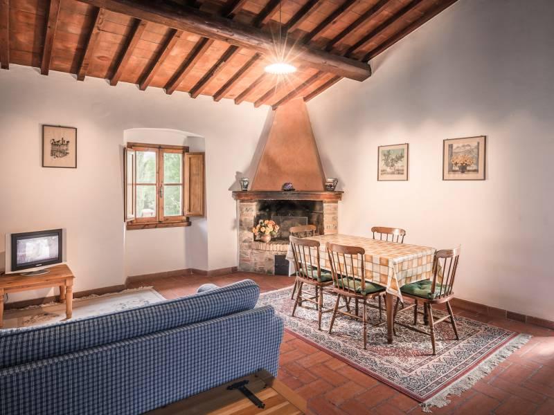 Agriturismo Toscane Knusse agriturismo in de chiantistreek bij Florence